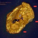 Verpresster Goldflitter (2a) 2015 - Torsten Marx
