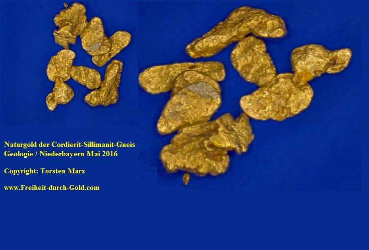 Naturgold_Cordierit-Sillimanit-Gneis Geologie - Torsten Marx